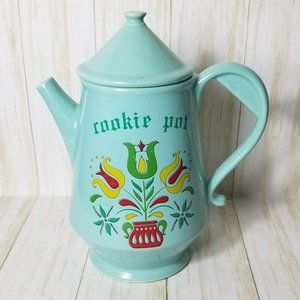 Vintage McCoy Dutch Pottery Coffee Pot Cookie Jar